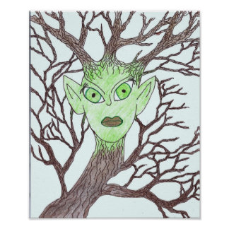 Mother Earth Dryad Poster