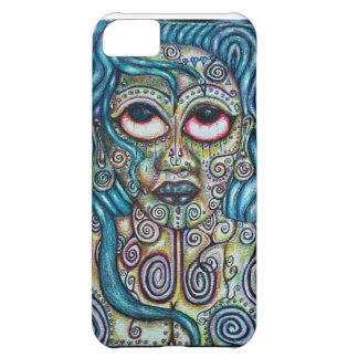 Mother Earth Goddess Dreadlocked Queen Case For iPhone 5C
