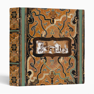 Mother Earth Herb 3 Ring Binder