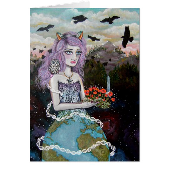 Mother Earth Notecard