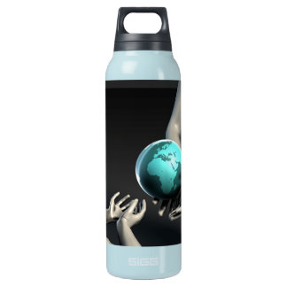 Mother Earth Providing To Her Children as Concept Insulated Water Bottle