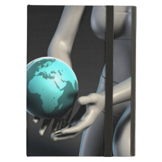 Mother Earth Providing To Her Children as Concept iPad Air Cover