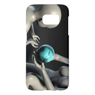 Mother Earth Providing To Her Children as Concept Samsung Galaxy S7 Case