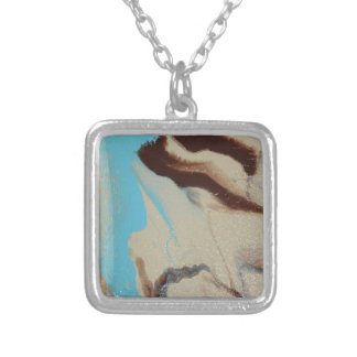 Mother Earth Silver Plated Necklace