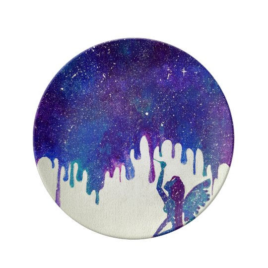 Mother Galaxy Porcelain Plates