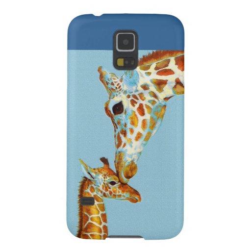 mother giraffe samsung phone case samsung galaxy nexus cover