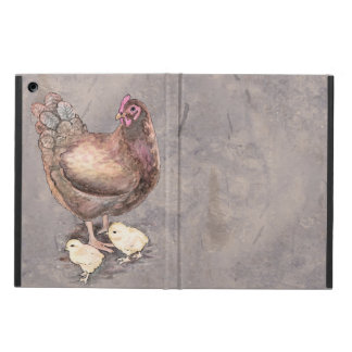 Mother Hen and Chicks Cover For iPad Air