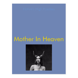Mother In Heaven Postcard