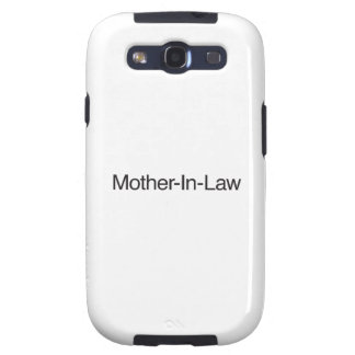 Mother-In-Law ai Galaxy SIII Cases