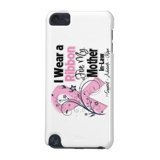 Mother-in-Law - Breast Cancer Pink Ribbon iPod Touch (5th Generation) Case