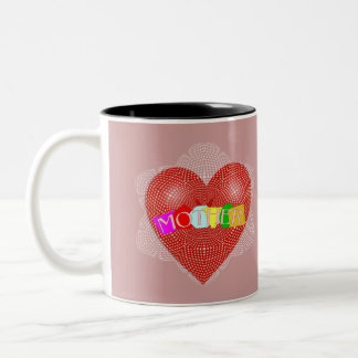 Mother in law Cup with Doily Heart Mug