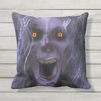 Mother In Law Ghost Throw Pillow