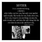Mother Is A Wonderful Thing Poster