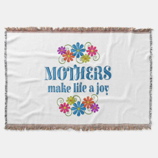 Mother Joy Throw Blanket