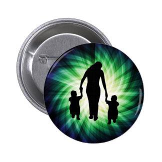 Mother & Kids; Cool design Pin