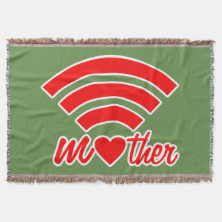 Mother Love Signal Throw Blanket