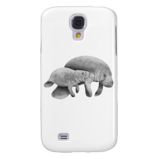 MOTHER MANATEES LOVE GALAXY S4 CASE