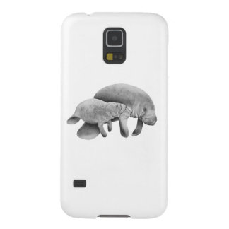 MOTHER MANATEES LOVE GALAXY S5 CASES