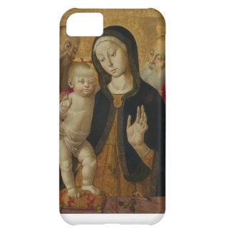 mother mary and baby jesus cover for iPhone 5C