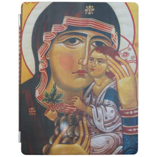 Mother Mary And Jesus Art iPad Cover