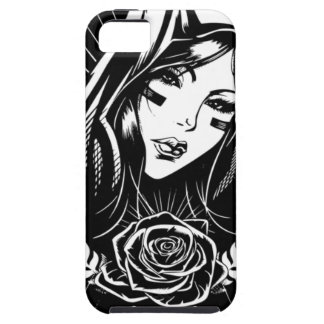 Mother Mary Chicano Art Case For The iPhone 5