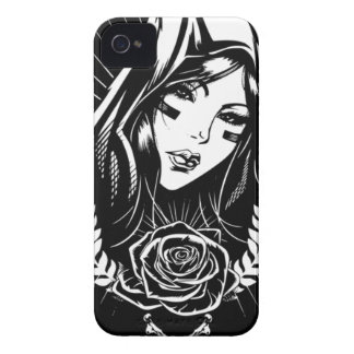 Mother Mary Chicano Art iPhone 4 Case