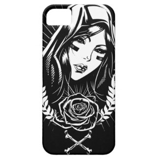 Mother Mary Chicano Art iPhone 5 Covers