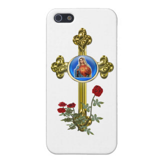 Mother Mary Cross gift items iPhone 5/5S Cover