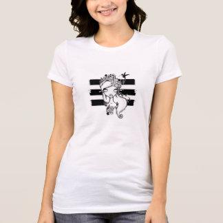 Mother Nature-ish Crew Shirt, White T-Shirt