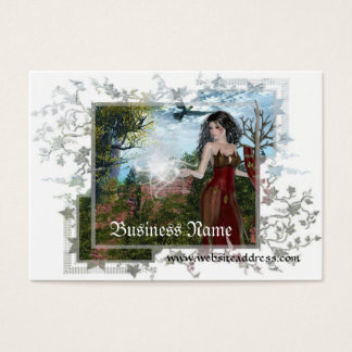 Mother Nature Large Fantasy Business Cards