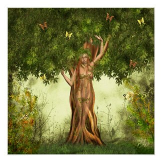 Mother Nature Tree Poster