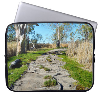 Mother Natures Footpath, Riverland Australia, Laptop Sleeve