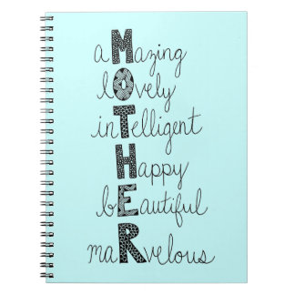 MOTHER NOTEBOOKS