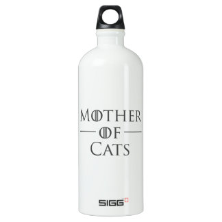 Mother of Cats Water Bottle