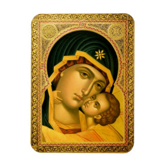 Mother of God Glykophilousa -- Icon Magnet