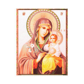 Mother OF God Russian icon Canvas Print