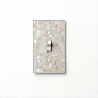 Mother of Pearl, Beige Light Switch Cover