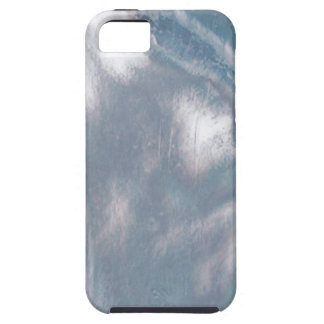 Mother of Pearl-Blue Cover For iPhone 5/5S