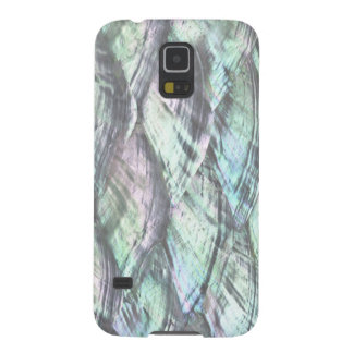 MOTHER OF PEARL Blue Print Samsung Galaxy 5 Case