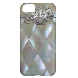 mother of pearl dragon iPhone 5C cases