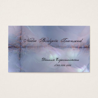 Mother of Pearl Effect 2 Biz Cards