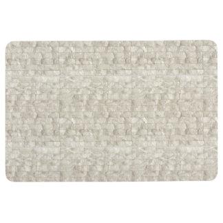 Mother of Pearl Floor Mat