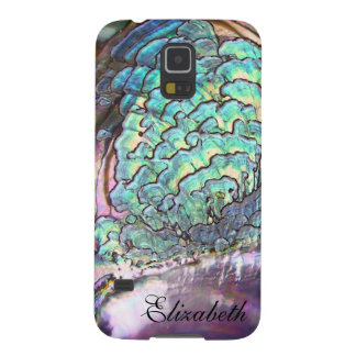 Mother-of-pearl Jewel Iridescent Personalized Galaxy S5 Cases