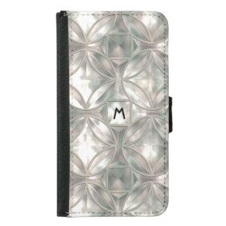 Mother of Pearl Monogram Wallet iPhone 5 Case