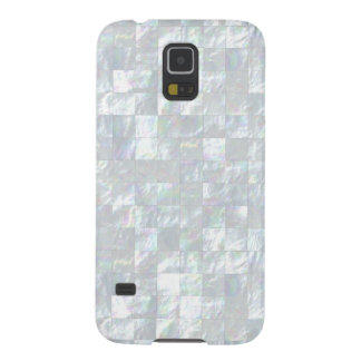 Mother Of Pearl Mosaic Galaxy S5 Covers