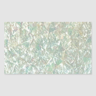 Mother of Pearl Opal Crackle Mirror Iridescent Sticker