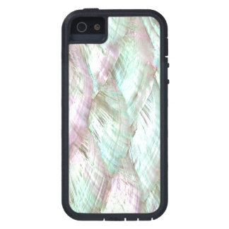 MOTHER OF PEARL Pink White Print Tough iPhone 5 iPhone 5 Cover