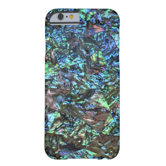 MOTHER OF PEARL PRINT Blue Green Barely There iPhone 6 Case