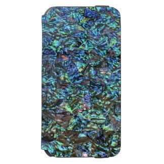 MOTHER OF PEARL PRINT Blue Green Incipio Watson™ iPhone 6 Wallet Case