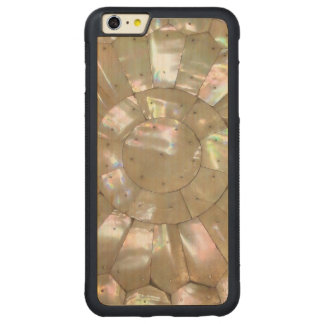 MOTHER OF PEARL PRINT Coppernail Carved® Maple iPhone 6 Plus Bumper Case